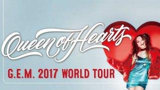 """優先訂票:G.E.M. """"Queen of Hearts"""" 世界巡迴演唱會2017 – 香港站"""