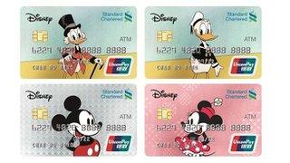 渣打與華特迪士尼公司宣布最新合作計劃 - 獨家推出迪士尼ATM卡及迪士尼存款卡 共享親子儲蓄樂趣
