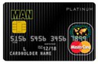 MAN白金信用卡